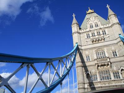 London Tower Bridge close up