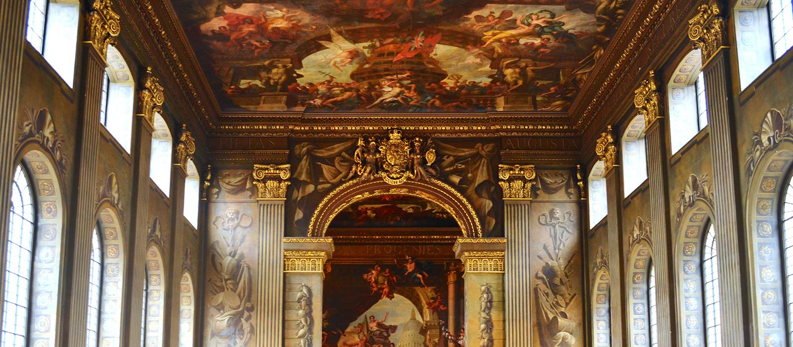 Greenwich Royal Naval College, painted hall