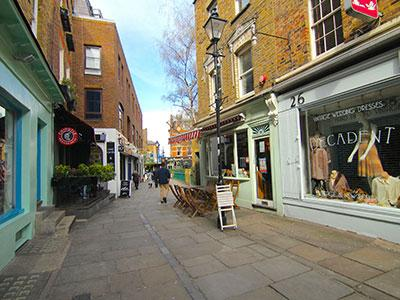 London Islington Camden Passage