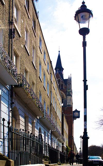 London Islington Compton Terrace