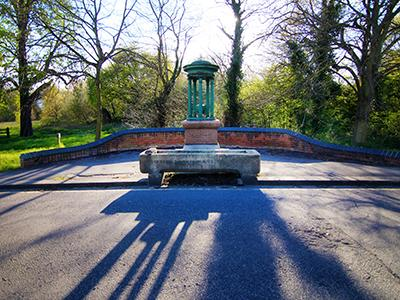 London Wimbledon parkside drinking fountain